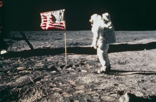 Apollo 11, the first manned lunar landing mission, launched on July 16, 1969.