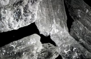 Methamphetamine crystals