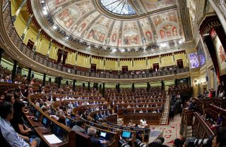 Deputies meet on June 14, 2017, in Madrid's Congress of Deputies.