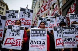 Argentina's economic problems have opened the door to a return of populist policies after the presidential election in October.