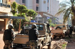 Al-Mourabitoun and al Qaeda in the Islamic Maghreb Attacked the Radisson Blu Hotel in Bamako, Mali.