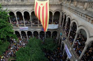 The Spanish central government is using legal, political and economic means to block an independence referendum in Catalonia.