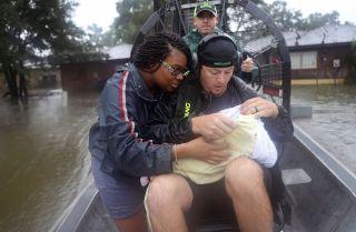 Hurricane Harvey survivors