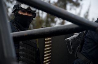Reputed cartel leader Juan Manuel Rodriguez Garcia, not shown, was arrested in Tamaulipas, officials said.