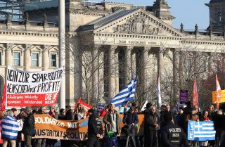 Greek Talks Create Strain in Athens and Berlin
