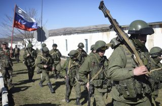 Russia Solidifies its Military Positions in Ukraine
