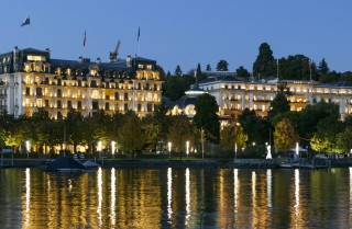 The Beau-Rivage Palace hotel in Lausanne, Switzerland. The politically neutral space hotels provide can make them ideal spaces for leaders to convene for consultation in times of crisis.