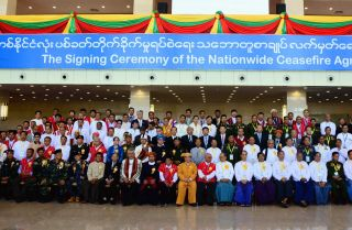 Only two of Myanmar's major ethnic militias signed the Nationwide Ceasefire Agreement in 2015, blunting the country's efforts to end decades of insurgency.