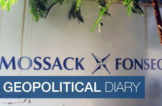View of a sign outside the building where Panama-based Mossack Fonseca law firm offices are placed in Panama City on April 3, 2016. A massive leak -coming from Mossack Fonseca- of 11.5 million tax documents on Sunday exposed the secret offshore dealings of aides to Russian president Vladimir Putin, world leaders and celebrities including Barcelona forward Lionel Messi. An investigation into the documents by more than 100 media groups, described as one of the largest such probes in history, revealed the hidd