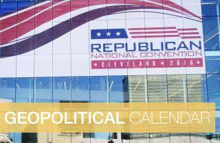 Geopolitical Calendar: Week of July 18, 2016