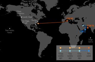 U.S. Naval Update Map: March 5, 2020.