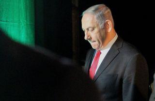 Israeli Prime Minister Benjamin Netanyahu in Tel Aviv, Israel, Feb. 14, 2018.