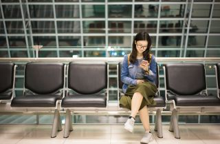 If you want to share information about your trip on social media, do it afterward, not before or during your travels.