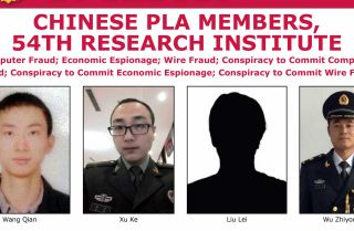 An FBI wanted poster listing four men allegedly behind the 2017 Equifax hack. The U.S. Department of Justice announced in a press release Feb. 10 that a federal grand jury in Atlanta had indicted four members of the Chinese People's Liberation Army in connection with the 2017 hack of the credit reporting agency Equifax.