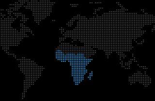 A map shows sub-Saharan Africa