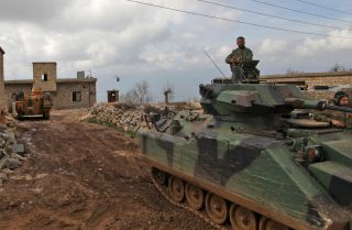 Turkey's Operation Olive Branch advances through northwestern Syria.