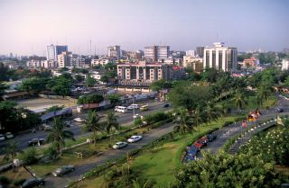 A view of Lagos, Nigeria.