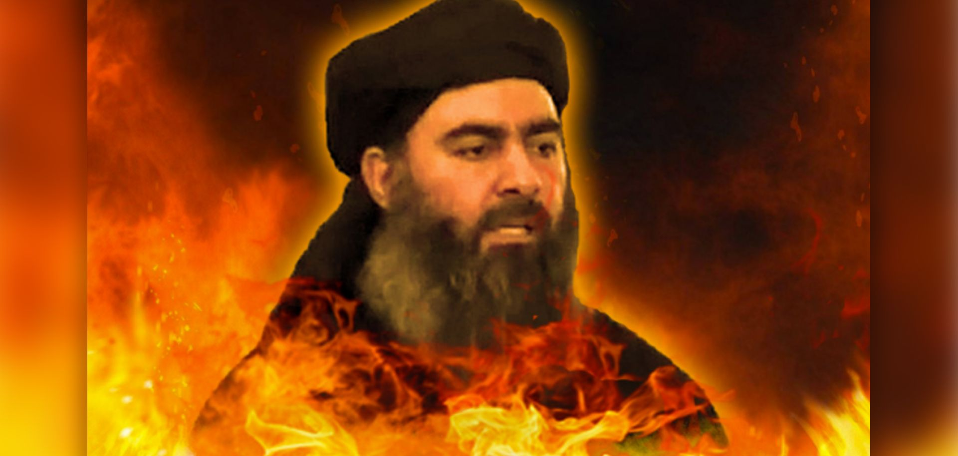 An image from an al Qaeda-inspired magazine shows Islamic State leader Abu Bakr al-Baghdadi in hell. Three years after the Islamic State defected from al Qaeda in an acrimonious and highly public split, many are still concerned that the two could someday reunite.