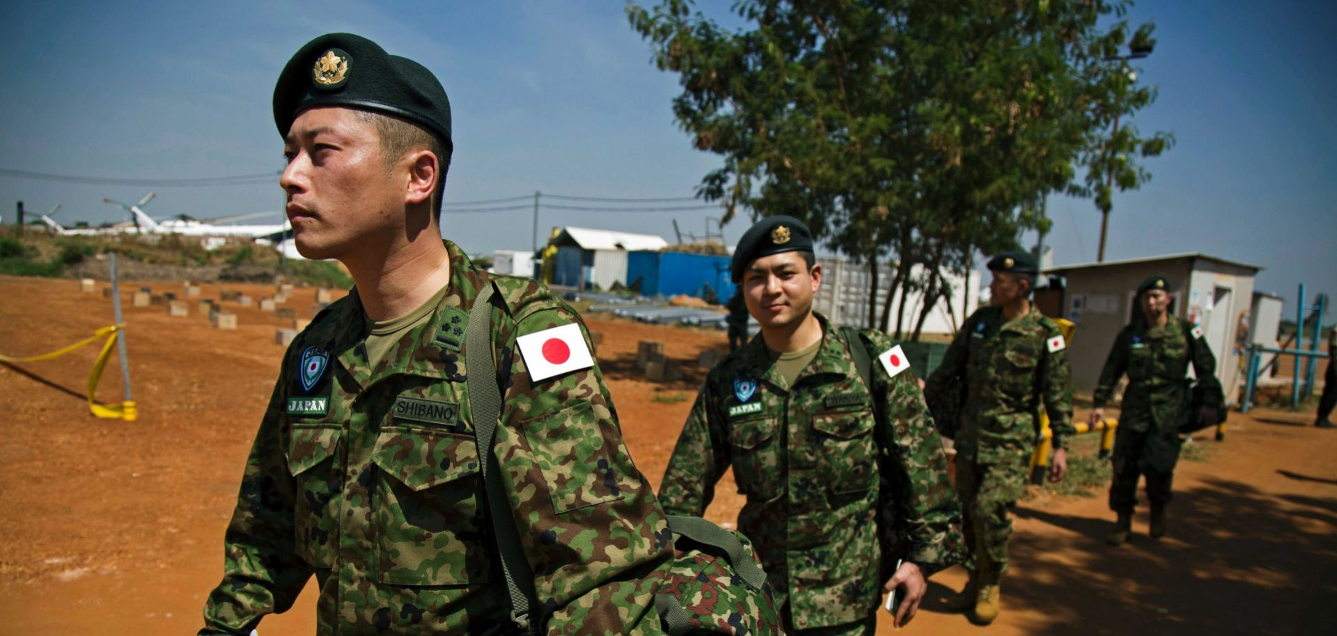 Members of Japan's Self-Defense Forces have more freedom now than they have had in the past to aid allies.