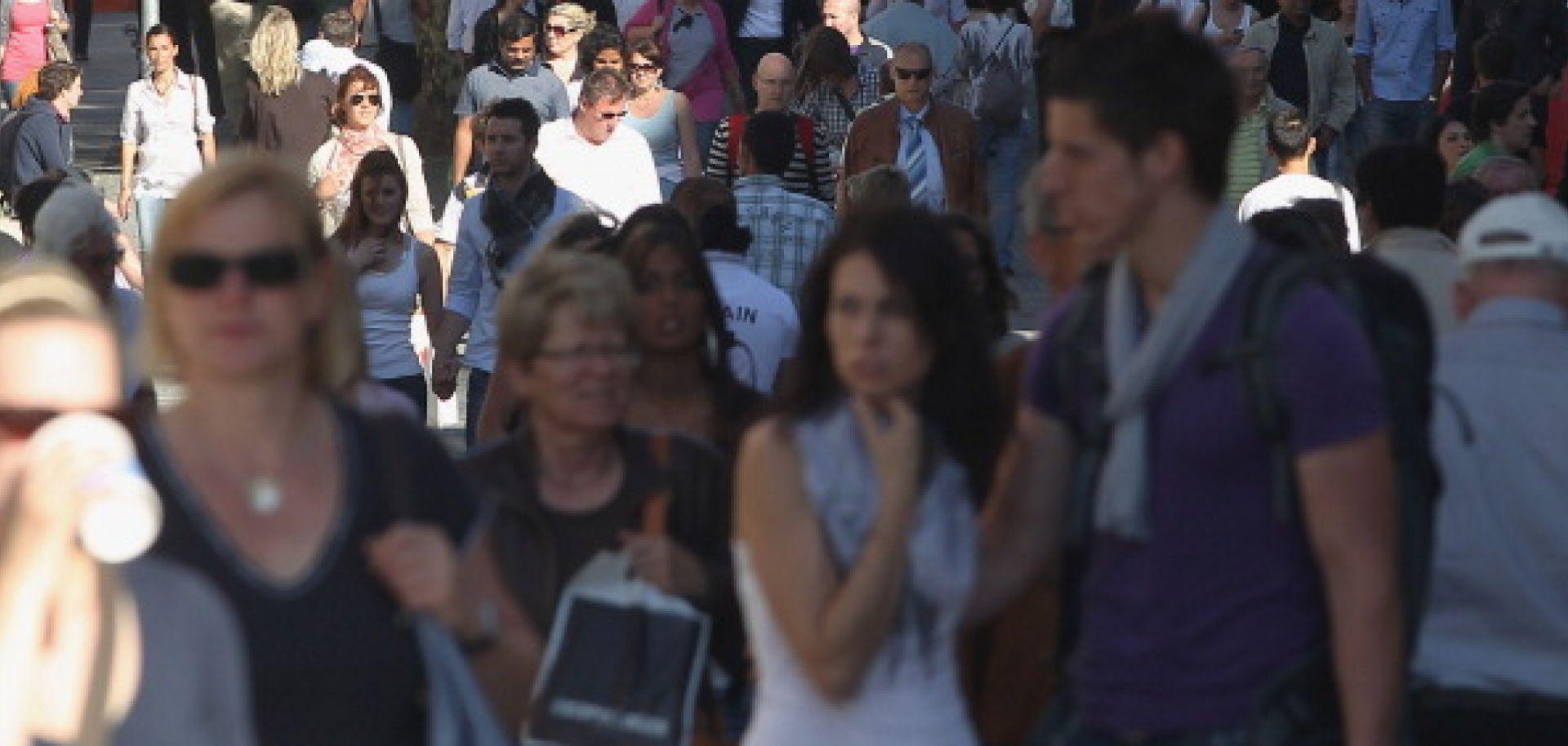 Europe's Shrinking, Aging Population