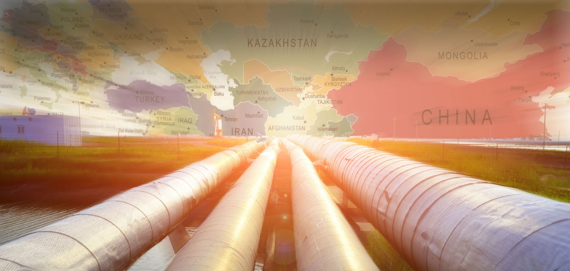 China's planned initiatives in Central Asia range from electricity infrastructure to industrial zones. But railways and pipelines form the backbone of its connectivity campaign in the region.