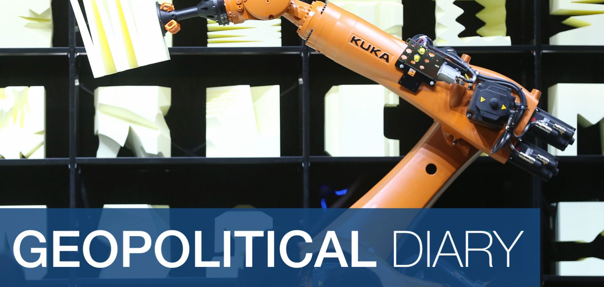 Germany's Kuka AG is the world's largest manufacturer of robotics for the automobile industry.