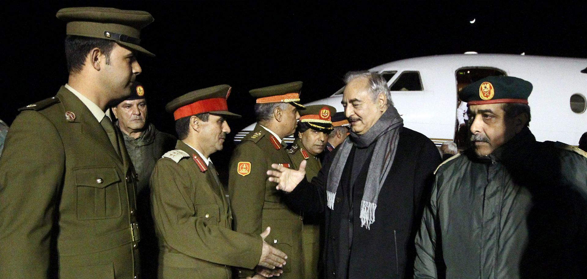 Holding Up the Peace Process in Libya