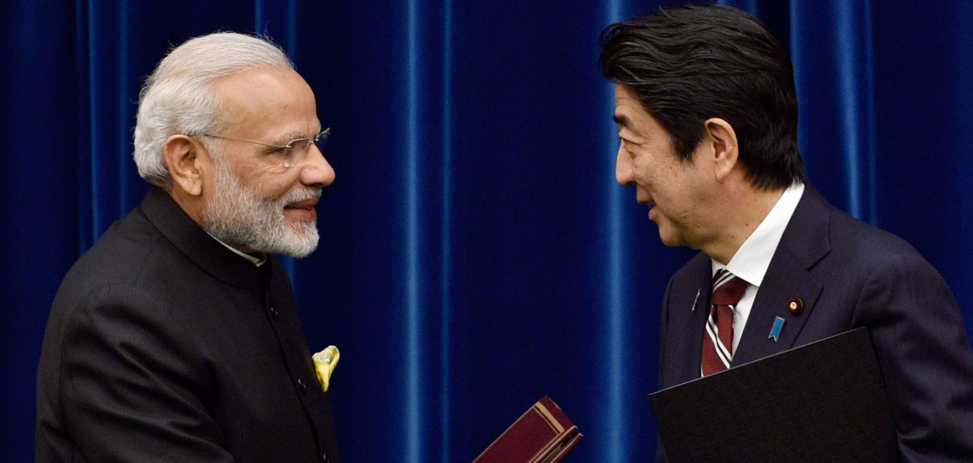 Led by premiers Narendra Modi (l) and Shinzo Abe, India and Japan have boosted their partnerships in several strategic areas, a process that is sure to continue in the future.