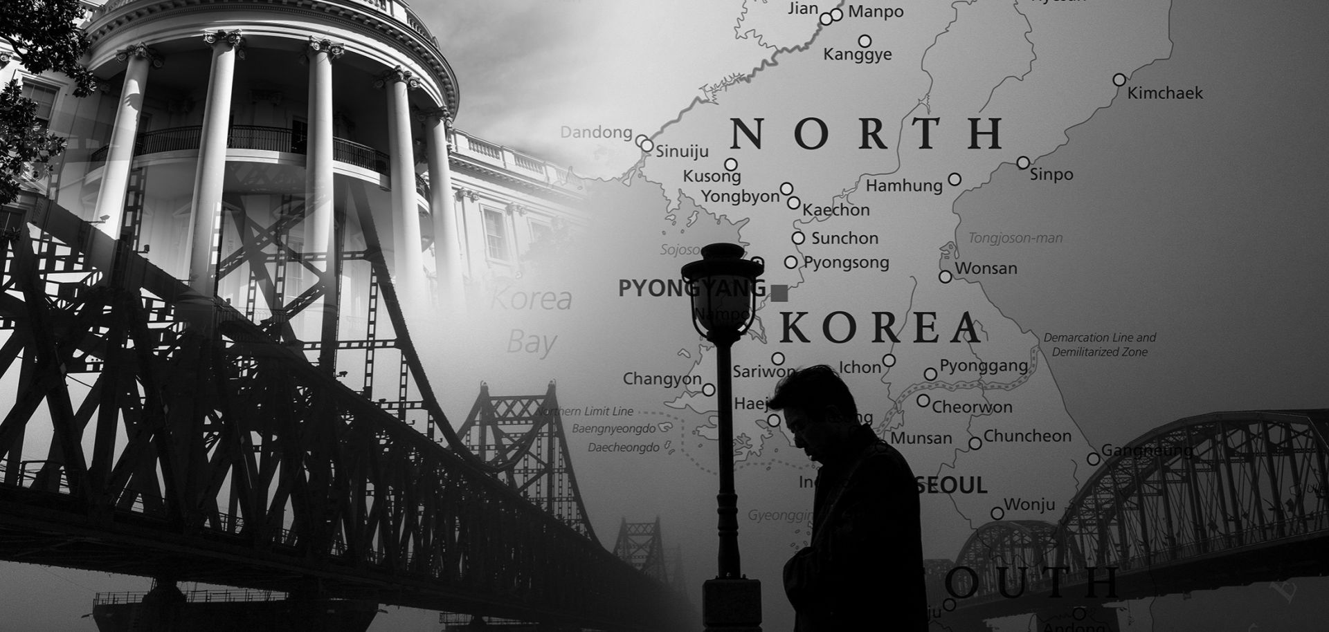 North Korea is making every effort to broadcast that it feels it can tolerate war on its territory far better than the United States could, having withstood the Japanese invasion, World War II and the Korean War.