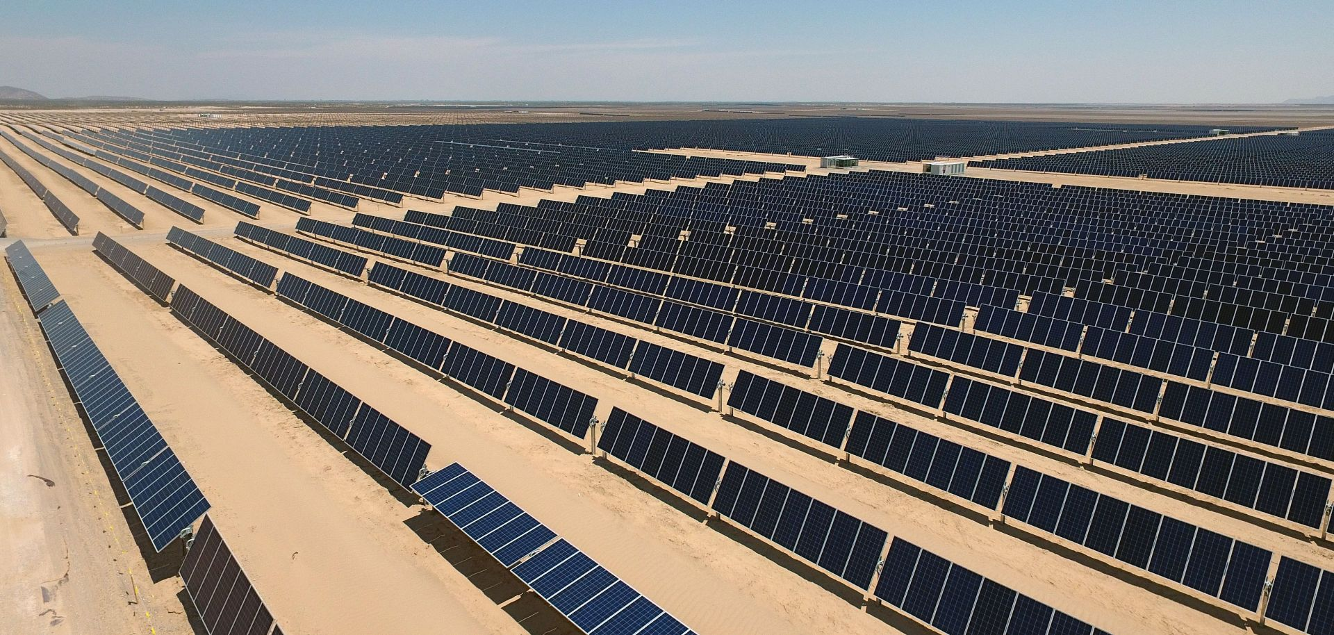 The Villanueva plant in Mexico is the size of 40 football fields, making it the largest solar plant in the Americas.