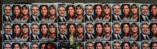 A presidential victor could be decided in the first round of elections held Oct. 27 in Argentina.