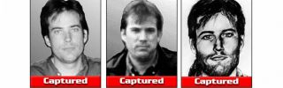 A screen grab from the FBI Ten Most Wanted Fugitive Webpage of Eric Robert Rudolph.