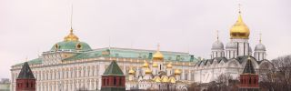 The gates of the Kremlin.