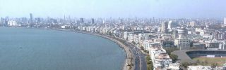 A view of Bombay.