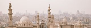 A view of the Mosque of Sultan Hassan in Egypt's capital, Cairo.