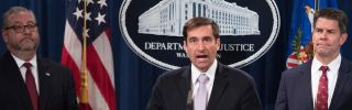 John Demers, U.S. assistant attorney general for national security, speaks in Washington, D.C., on Nov. 1.