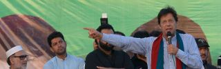 Imran Khan's Pakistan Tahrik-e-Insaf party is among the three major contenders trying to win Pakistan's general elections on July 25.