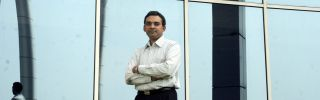 Shivkumar Mani, the head of marketing for the Dewan Housing Finance Corp., an Indian shadow bank, is seen in this photo.