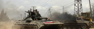 Syria: Outside Patronage and a New Offensive for the Regime
