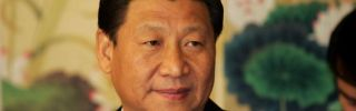 Chinese Vice President Xi Jinping in Seoul on Dec. 17