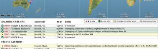 U.S. Naval Update Map: July 25, 2013