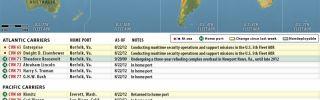 U.S. Naval Update Map: Aug. 22, 2012