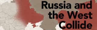 The competition between Russia and the West has been heavily concentrated in Ukraine throughout history.