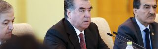 In Tajikistan, a Bad Time for Unrest