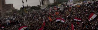 """Tahrir Square, which is also known locally as """"Martyr Square,"""" in Cairo, Egypt. Defining the 'Arab World' is not quite as easy as one would imagine."""