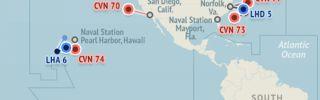 U.S. Naval Update Map: July 28, 2016