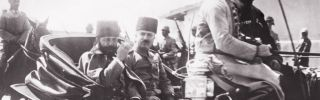 Jamal Pasha, the Ottoman governor of Syria, passes through Damascus on July 17, 1917. Under Ottoman rule, Syria existed as a collection of culturally diverse provinces.