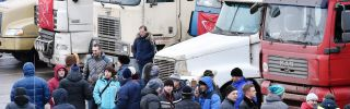 Applying the Brakes to a Russian Truckers' Protest