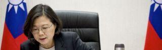Taiwan Tsai Ing-wen telephone call with US President Donald Trump