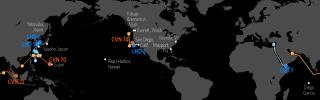 U.S. Naval Update Map: April 5, 2018